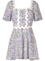Alice Mccall Lady Floral Print Playsuit Multicolour