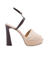 Osklen Platform Sandals Nude And Neutrals
