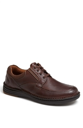 Dunham 'Candor' Moc Toe Derby Brown