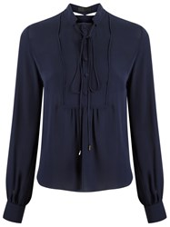 Talie Nk Silk Shirt Blue