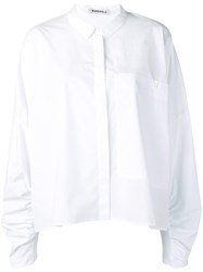 Rundholz Extra Long Sleeve Shirt White