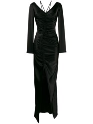 David Koma Ruched Fitted Maxi Dress 60