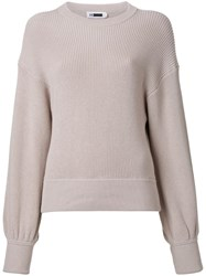 H Beauty And Youth Loose Fit Jumper Nude Neutrals