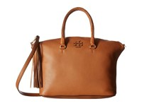 Tory Burch Taylor Satchel Saddle Satchel Handbags Brown