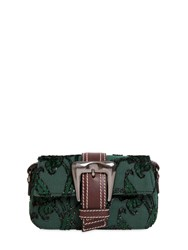 Rochas Small Buckle Fil Coupe Shoulder Bag