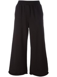 Alexander Wang T By Cropped Flares Black