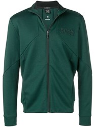 Hugo Boss Zipped Up Jacket Green