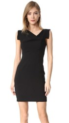 Black Halo Jackie O Mini Dress Black