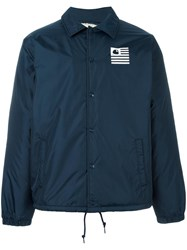 Carhartt Button Down Sport Jacket Blue