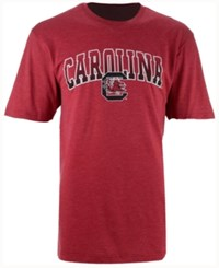 Colosseum Men's South Carolina Gamecocks Gradient Arch T Shirt Crimson