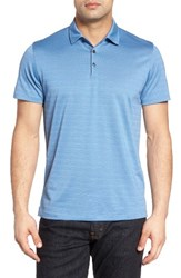 Robert Barakett Men's Walsh Polo Harbour Blue