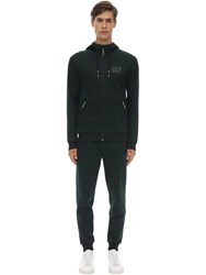 Emporio Armani Natural Ventus Sweatshirt And Sweatpants Forest Green