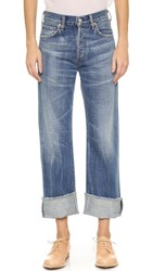 Citizens Of Humanity Parker Relaxed Cuffed Crop Jeans Anberlin