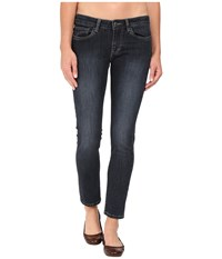 Mountain Khakis Genevieve Skinny Jeans Classic Fit Dark Wash Navy
