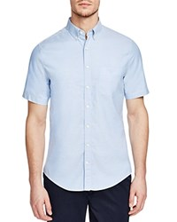 Gant Tee Off Comfort Oxford Slim Fit Button Down Shirt Sky Blue