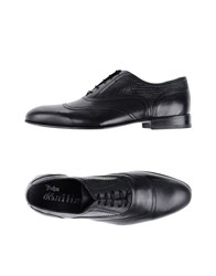 John Galliano Lace Up Shoes Black