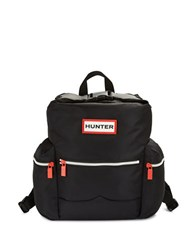 Hunter Top Clip Backpack Black