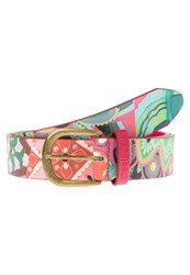 Desigual Belt Rojo Fresa Multicoloured