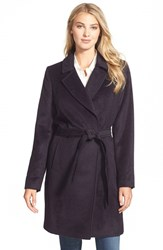 Women's Andean 'Carrie' Belted Alpaca Blend Long Wrap Coat