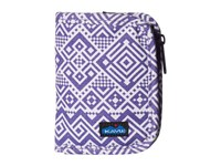 Kavu Zippy Wallet Purple Quilt Bags
