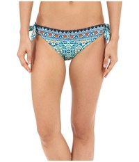 Sperry Beachside Bohemia Hipster Aquamarine Women's Swimwear Blue