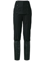 Adriana Degreas High Waist Trousers Black