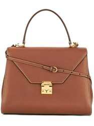 Mark Cross Hadley Tote Brown