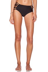 Cami And Jax Cami Jax Moana High Waist Bikini Bottom Black