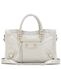 Balenciaga Classic City S Leather Tote Grey