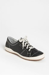 Women's Josef Seibel 'Caspian' Sneaker Black Leather