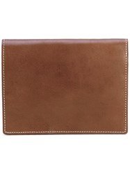 Undercover Billfold Wallet Men Calf Leather One Size Brown