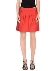 Who S Who Skirts Mini Skirts Women Red