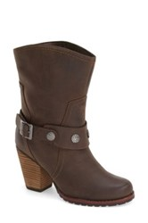 Eastland 'Bellamy' Belted Mid Boot Women Brown
