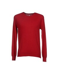Asola Knitwear Jumpers Men Red