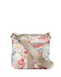 Le Sport Sac Essential Floral Print Crossbody Bag Pink Pattern