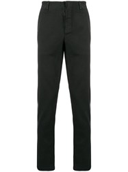 Transit Slim Fit Trousers Black