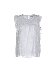 Essentiel Shirts Blouses Women Light Grey