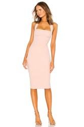 Nookie X Revolve Boulevard Midi Dress Blush