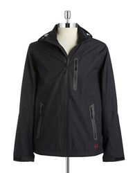 Hawke And Co Ripstop Windbreaker Black