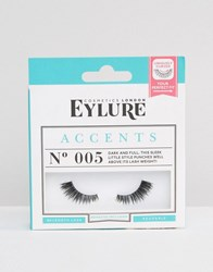 Eylure Accents 3 4 Lashes No. 005 Accents No. 005 Black