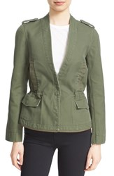 Zadig And Voltaire Women's 'Vedam' Skull Military Blazer