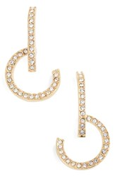 Vince Camuto Lobe And Hoop Earrings Gold