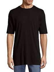 Drifter Nelson Solid Cotton Tee Black