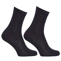 John Lewis Egyptian Cotton Ankle Socks Pack Of 2 Navy