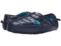 The North Face Thermoball Traction Mule Ii Shiny Cosmic Blue Enamel Blue Men's Slip On Shoes Black