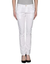 Silvian Heach Casual Pants White