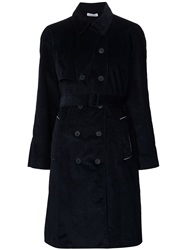 Tomas Maier Trench Coat Black