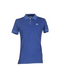 Ice Iceberg Topwear Polo Shirts Men Blue