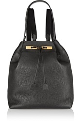 The Row 9 Textured Leather Backpack