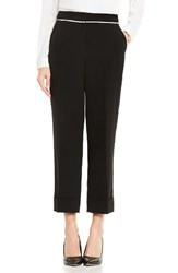 Vince Camuto Women's Cuffed Crop Pants Rich Black